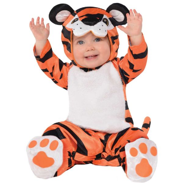 Tiny Tiger Costume Toddlers Fancy Dress Outfit